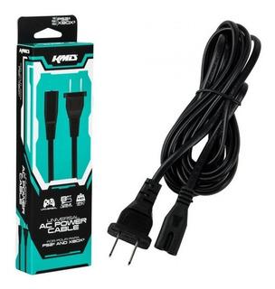 Cable Corriente Ps2 Y Xbox Clasico Original Kmd 2,4m 8 Ft
