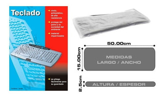 Funda Universal Para Teclado Tamaño Estandard 50x15x2.5cm