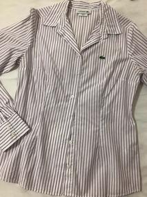 Camisa Lacoste Listrada 36 Original