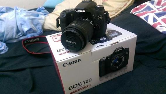Canon 70d + Lentes + Steadycam (kit Para Trabalho)