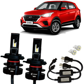 Kit Lampadas Super Led Plus Hyundai Creta 1.6 12000 Lumens