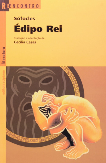 Livro Édipo Rei - Col. Reencontro - Cecilia Casas - Sófocles