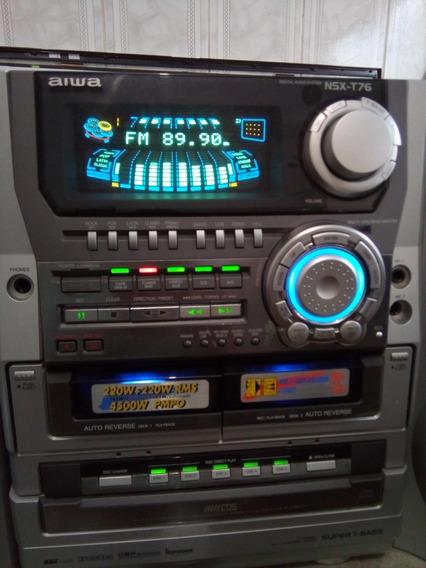 Sistem Aiwa Nsx T 76 - 4500 W - ( Novinho )