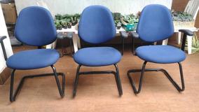 03 Cadeiras De Escritório Ou Computador
