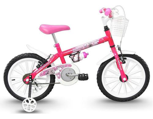 Bicicleta Infantil Feminina Aro 16 Bike Track