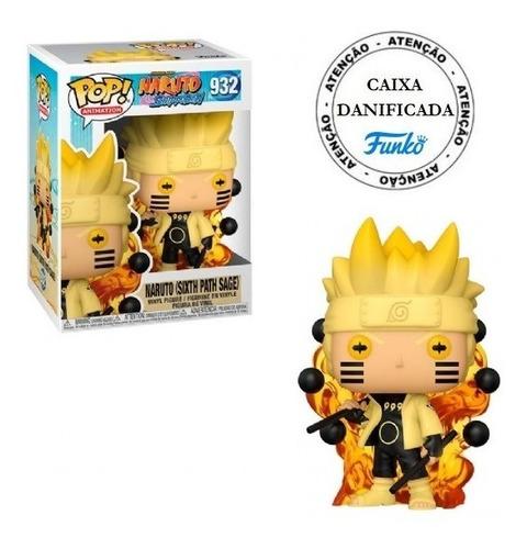 Boneco Pop Funko Naruto Sixth Path Sage #932