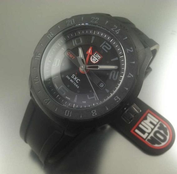 Relógio Luminox Sxc Carbon Gmt Spacex