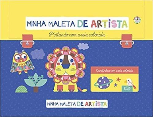 Livro Minha Maleta De Artista - Pintando Com Areia Colorida