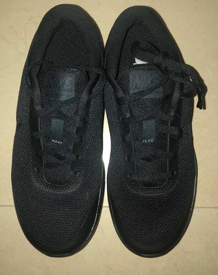 Zapatos Deportivos Nike Negro Nuevos Para Niños Talla 35.5