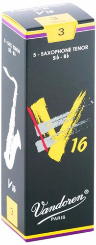 Pack De Cañas Vandoren V16 Sr723 De Saxo Tenor N3 X5u