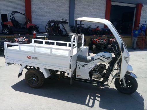 Motocarro Sunl 200 Cc Con Cabina Para Carga