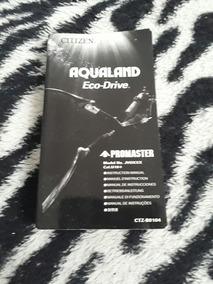 Manual Original Novo Aqualand