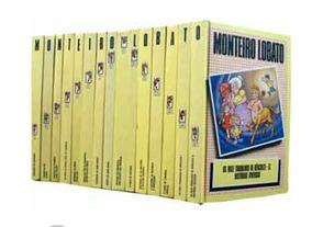 Livro Coleção Completa Monteiro Lobato