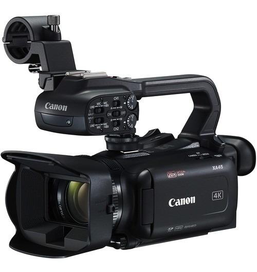 Filmadora Profissional Canon Xa45 Uhd 4k30 Sdi - Com Nfe