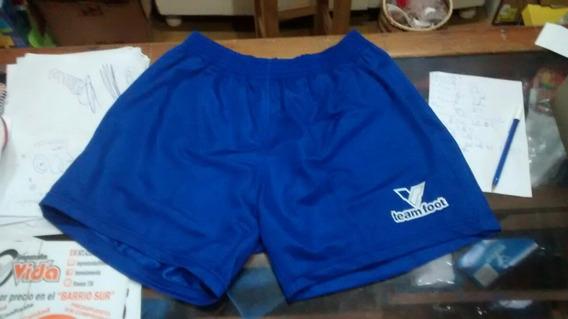 Pantalon Corto Team Foot.azul