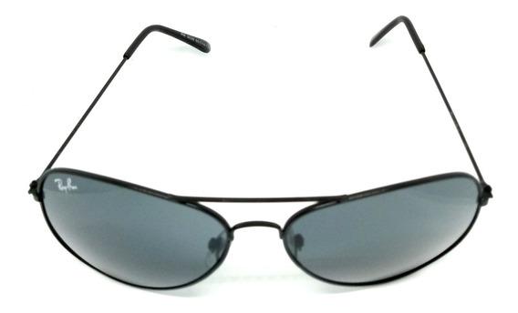 Óculos De Sol Ray Ban Rb3026 Preto Aviador Classic