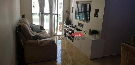 Apartamento Com 3 Dormitórios À Venda, 80 M² Por R$ 580.000 - Tatuapé - São Paulo/sp - Ap4171