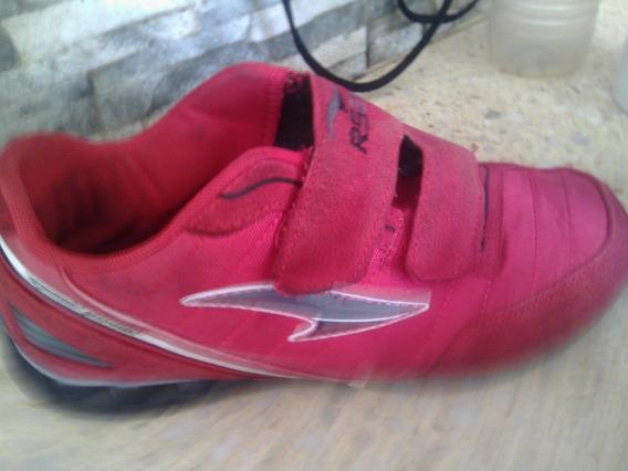 Zapatos Rs21 Caballero Talla 36 Rojos. En Muy Buen Estado