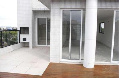 Cobertura Duplex Com Terraço + Varanda, 3 Suítes , 2 Vagas, Em Ótima Rua Do Água Verde! - Co0012