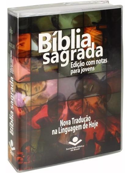 Bíblia Sagrada Edição Com Notas Para Jovem 7899938401972