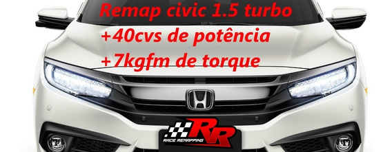 Remap Chip De Potência Civic Touring 1.5 Turbo