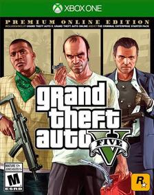 Jogo Gta 5 - Xbox One Digital Original Edição Online Premium