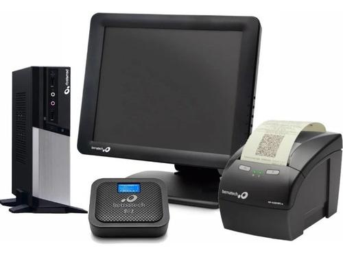 Imagem 1 de 1 de Bematech Sat Go + Mp4200 + Monitor Touch Cm-15 + Cpu Rc-8400