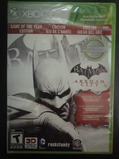 .: Batman Arkham City Game Of The Year Xbox 360 :. En Bsg