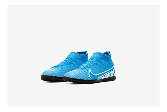 Chuteira Nike Mercurial Jr Superfly 7 Club Ic + Nf