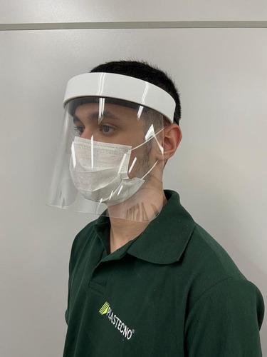 Protetor Facial Em Petg Transparente