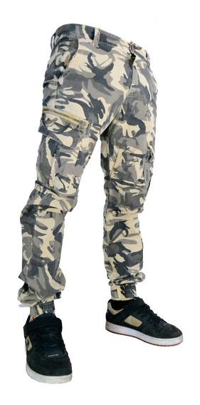 Pantalones Cargo Jogger De Gabardina Importados