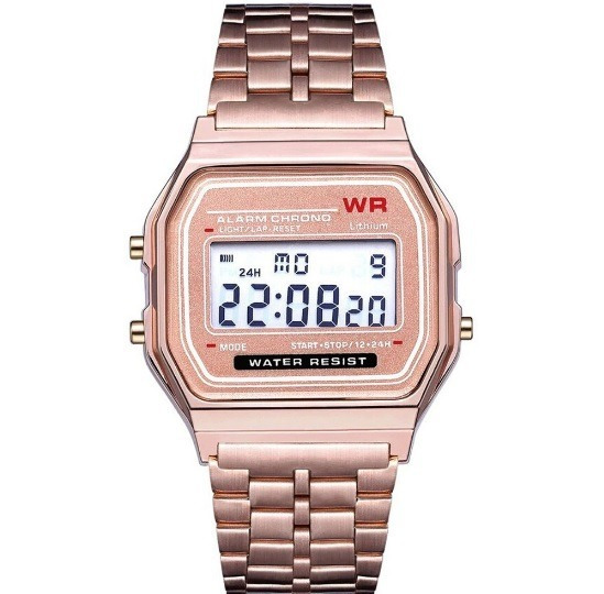 Relógio Digital Retro Vintage Feminino Masculino Lindo