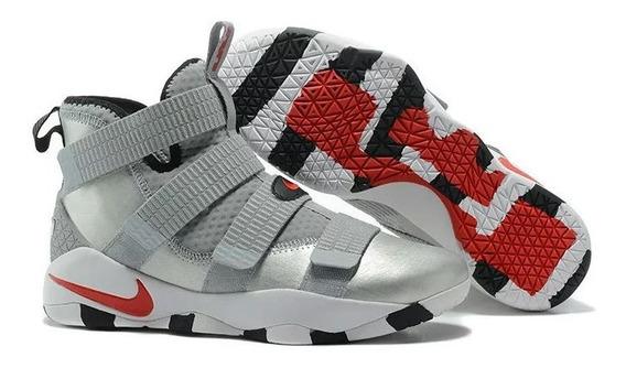 Tenis Nike Lebron Soldier 11 Varias Cores Frete Gratis