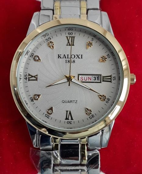Relógio Kaloxi Quatz Masculino.