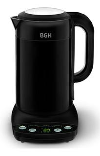 Pava Bgh Bpe17ss16 Eléctrica 1.7lt Color Negro