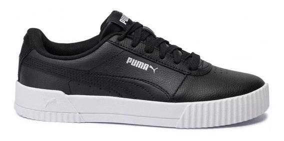 Zapatillas Moda Puma Carina L Adp Negro Mujer - Envio Gratis