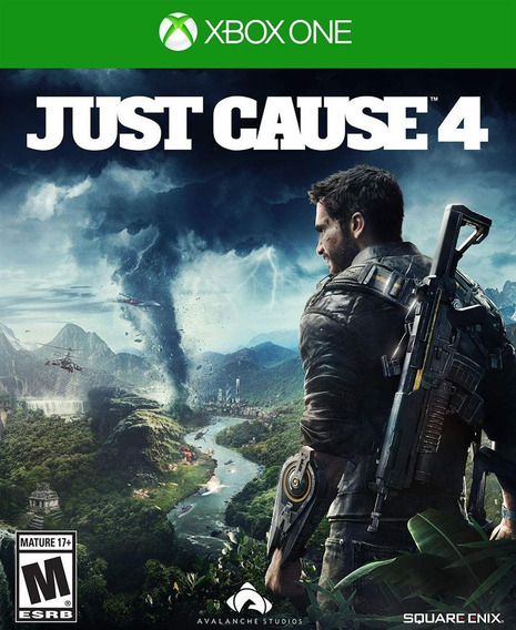 Just Cause 4 Edição Day One Xbox One Mídia Física Lacrado