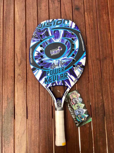 Imagen 1 de 2 de Raqueta De Beach Tennis Vision Power Kevlar 2020