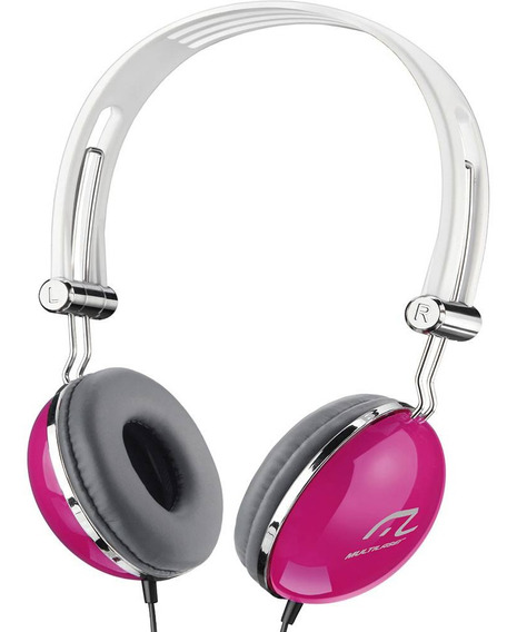 Heaphone Multilaser Ph055 Vibe Pink