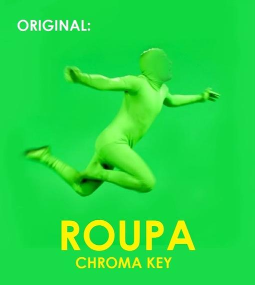 Roupa / Chroma Key / Todos Os Tamanhos / Pronta Entrega /