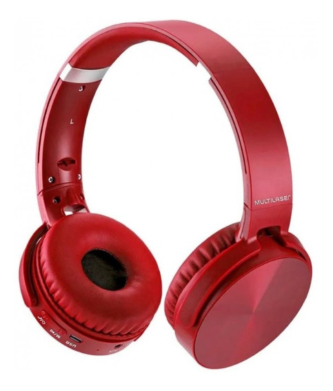 Headphone Premium Bluetooth Sd/aux/fm Multilaser Ph266