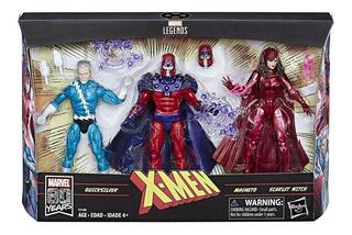 Marvel Legends Family Matters 3pack Amazon Ex Magneto Hasbro