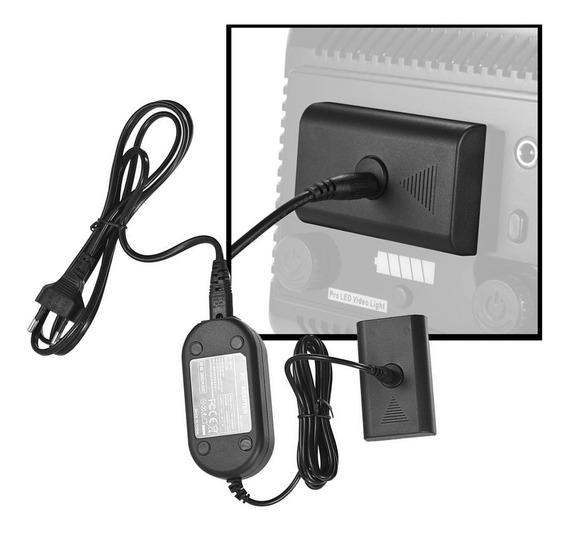 Fonte Continua Adaptador P/ Iluminador Np-f550 W160 W228 P32