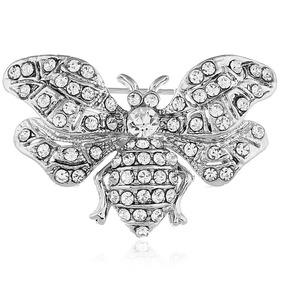 66f3aa9c24d1 Diamante De Imitación Creativo Abeja Broche Personalidad Br