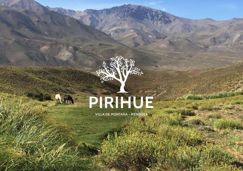 Pirihue - Lotes 1.000 M2 Los Molles / Las Leñas / Mendoza