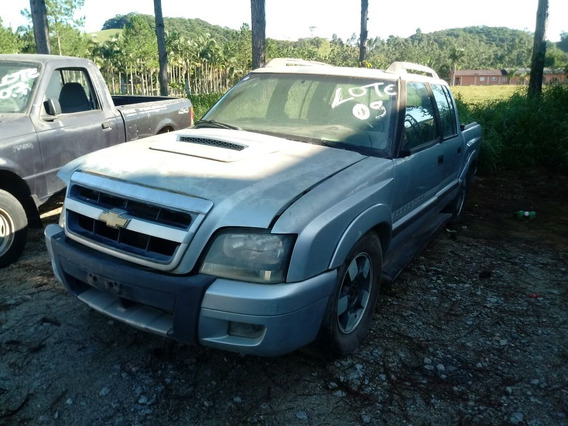 Sucata Chevrolet S10 2.4 Executive Cab. Dupla 4x2 Flexpower