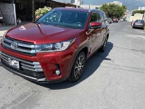 Imagen 1 de 9 de Toyota Highlander Limited 2019 Roja