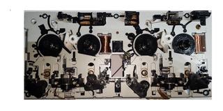 Deck Casetera Doble Revesible Nueva Universal Para Adaptar 4