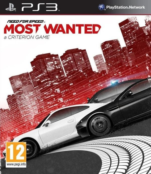 Need For Speed Most Wanted Ps3 - Leia Descrição