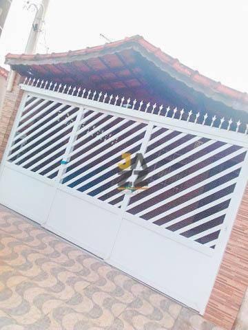 Casa Com 2 Dormitórios À Venda, 159 M² Por R$ 315.000,00 - Caiçara - Praia Grande/sp - Ca13228